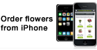 Order flowers from iPhone
